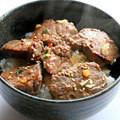 肉丼(イメージ)